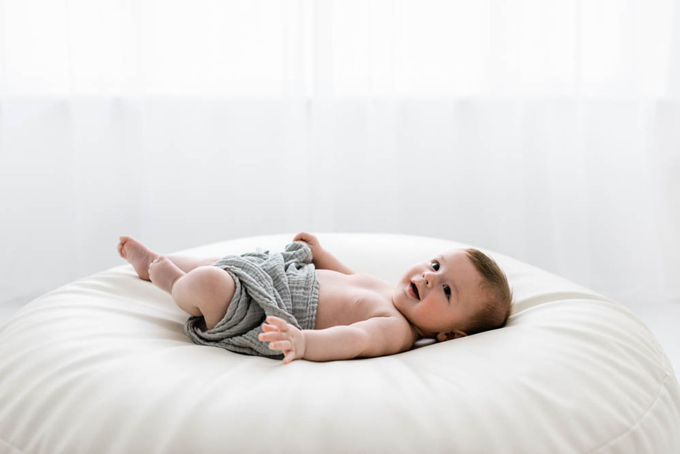 Sweet baby George... | Warrington newborn baby photographer.