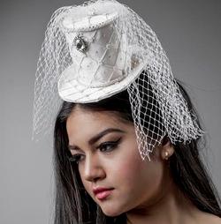 Bridal Mini Top Hat