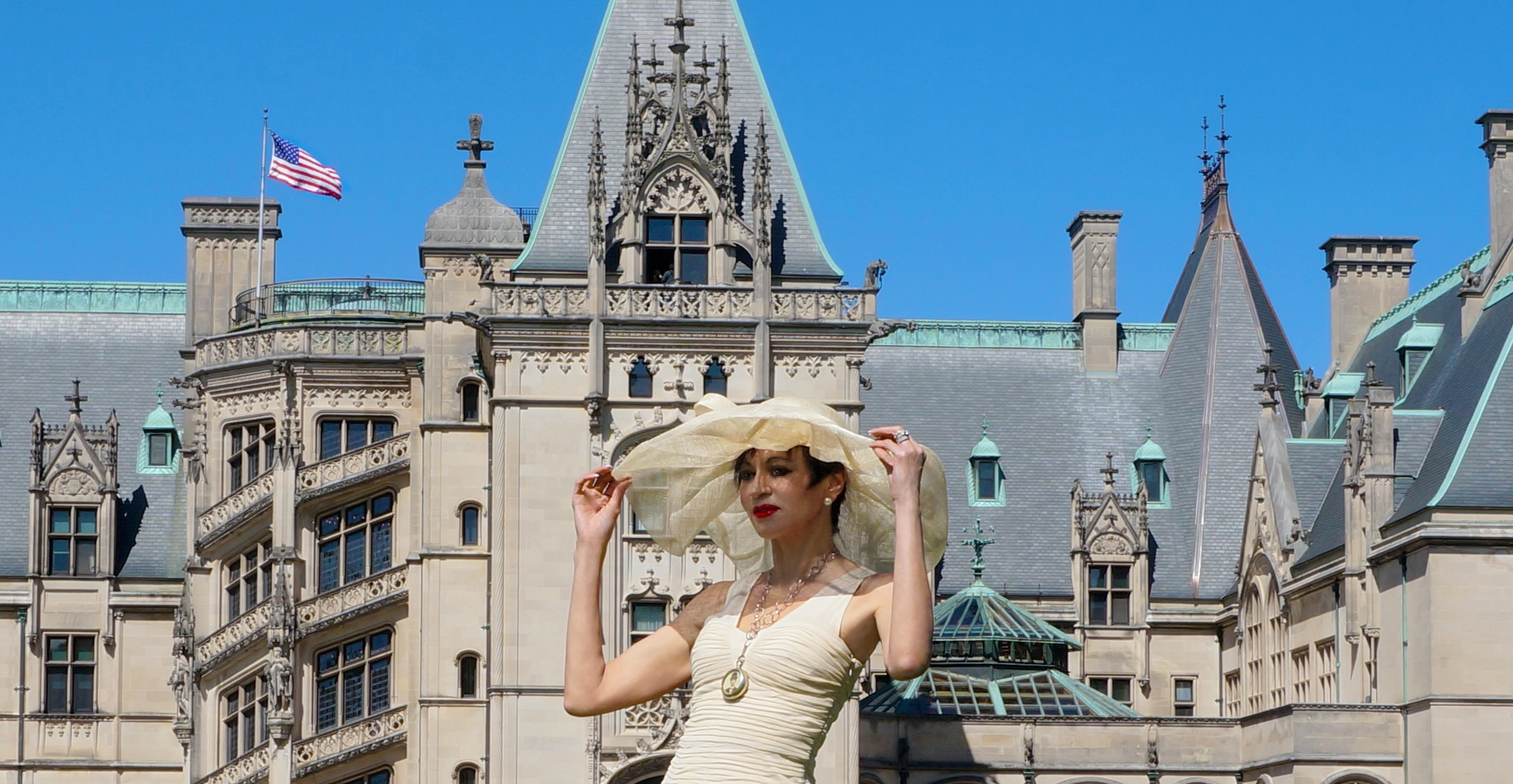 Eloise at the famed Biltmore Estate