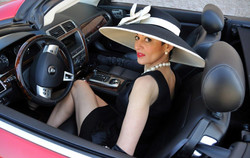 Black Dahlia on the Road