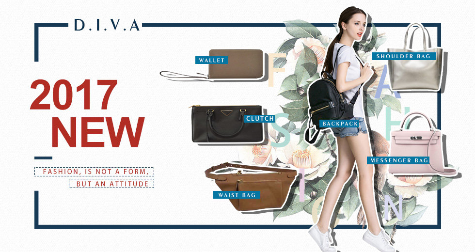 D.I.V.A world trade-China-Vietnam-manufacturer-fashion-adults clothings-wallet,clutch,waist bag,shoulder bag,backack,messenger bag