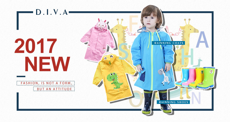 D.I.V.A world trade-China-Vietnam-manufacturer-fashion-KIDS CLOTHINGS-RAINNING SHOES,RAINNING COATS