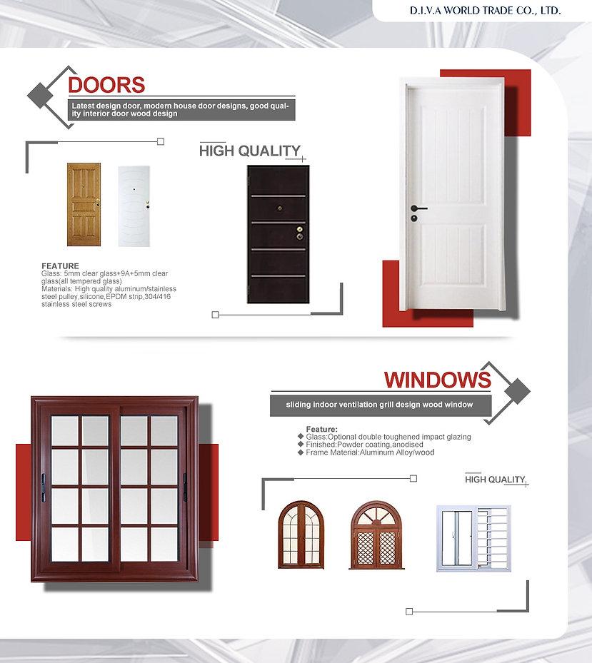 D.I.V.A WORLD TRADE-China-Vietnam-manufacturer-INDUSTRY-ALUMINUM,COMPOSITES PANELS,DOORS,WINDOWS