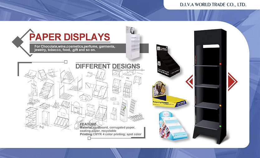 D.I.V.A WORLD TRADE-China-Vietnam-manufacturer-MERCHANDISING-DISPLAY-GIFT&PROMOTION-BAGS&TRAVEL-TECHNOLOGY-SPORT EQUIPMENT