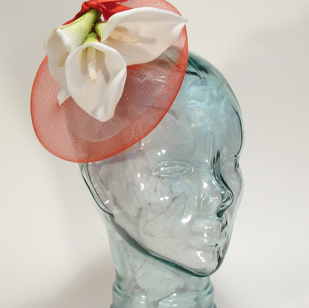 Crin Fascinator with Lillies $58