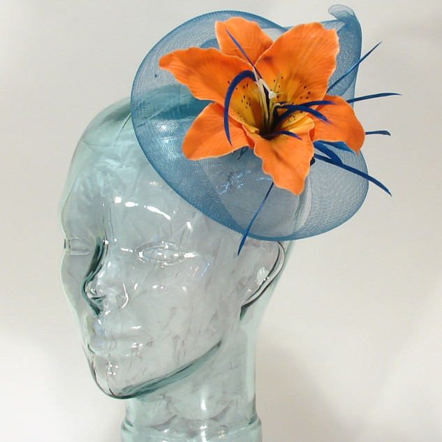 Crin & Flower Fascinator $58
