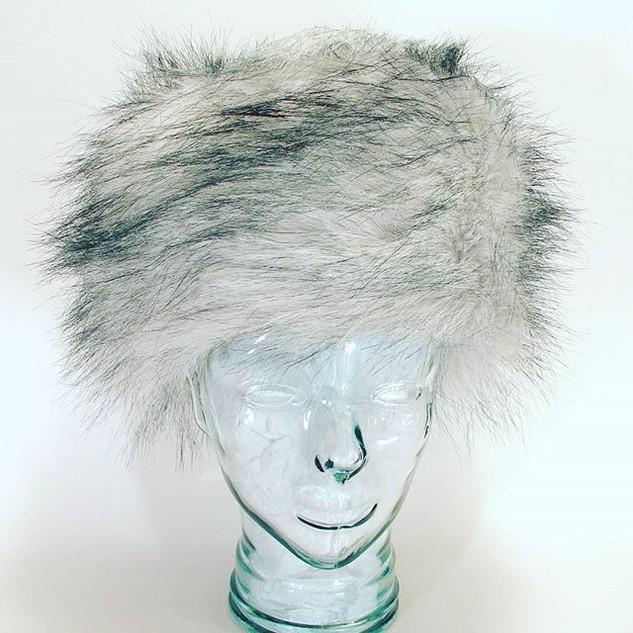The Rideau Hat in Faux Fur $64