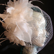 Flowers, Feathers & veil  $82