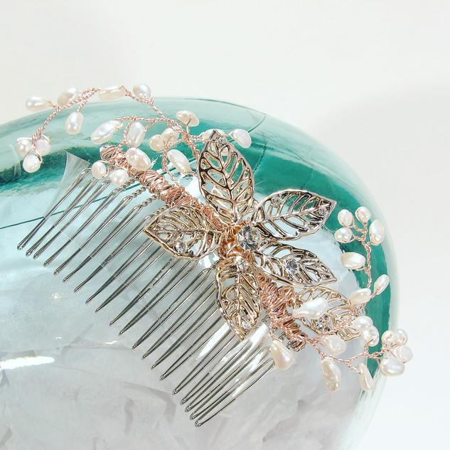 Hair Jewellery Vine & Pearls $120