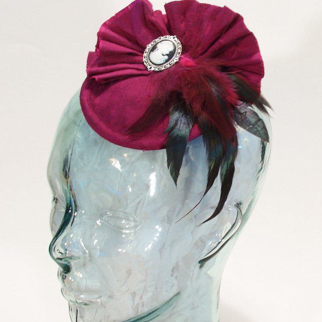 The Coquette Hat in Silk $58