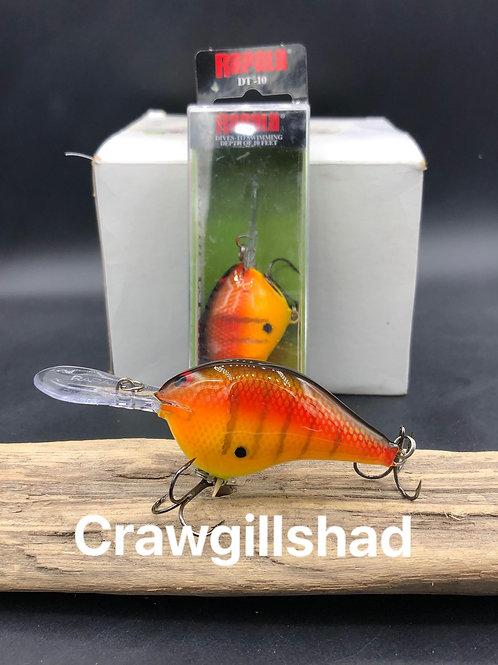 Rapala Dt10- CrawGillShad