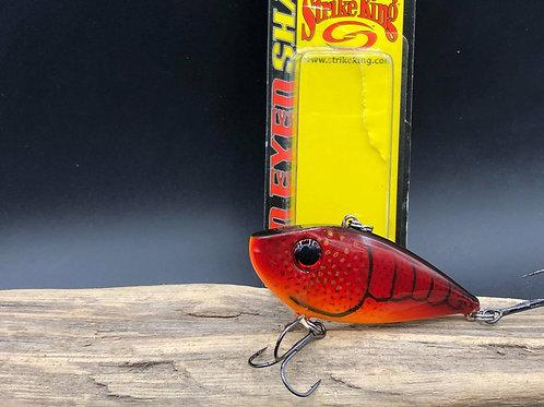 Strike King Red Eye Shad 1/2 oz- Cherry Craw