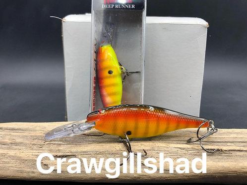 Rapala Shad Rap SR8- CrawGillShad