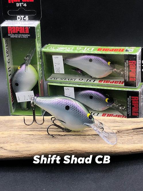 Rapala Dt6- Shift Shad CB