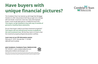Julie Condelario mortgage lending event
