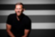 Josh Kalinowski black and white backgrou