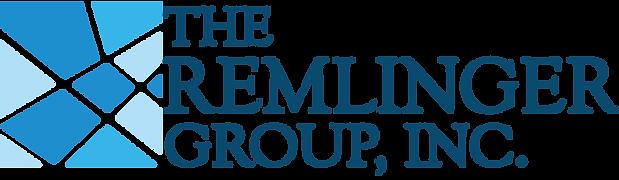 The Remlinger Group Logo Blue Letters.pn