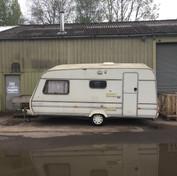 The Caravan base for the den