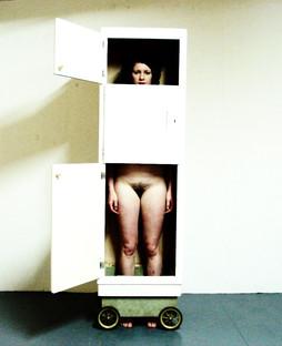 Cupboard Lady Nude