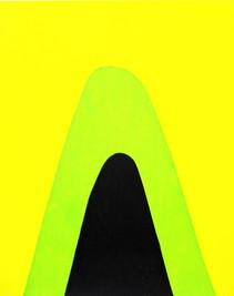 Mountain Screenprint Yellow