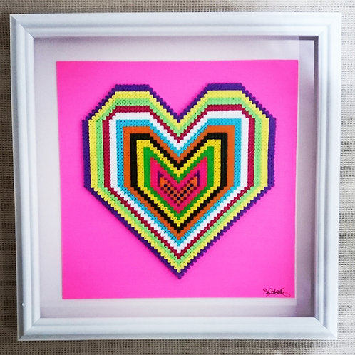 Pixel Love Pink