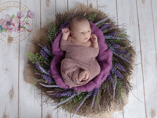 Ellyana's Newborn Session