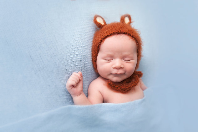 Smiling baby by