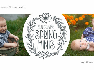 Spring Minis and Giveaway!