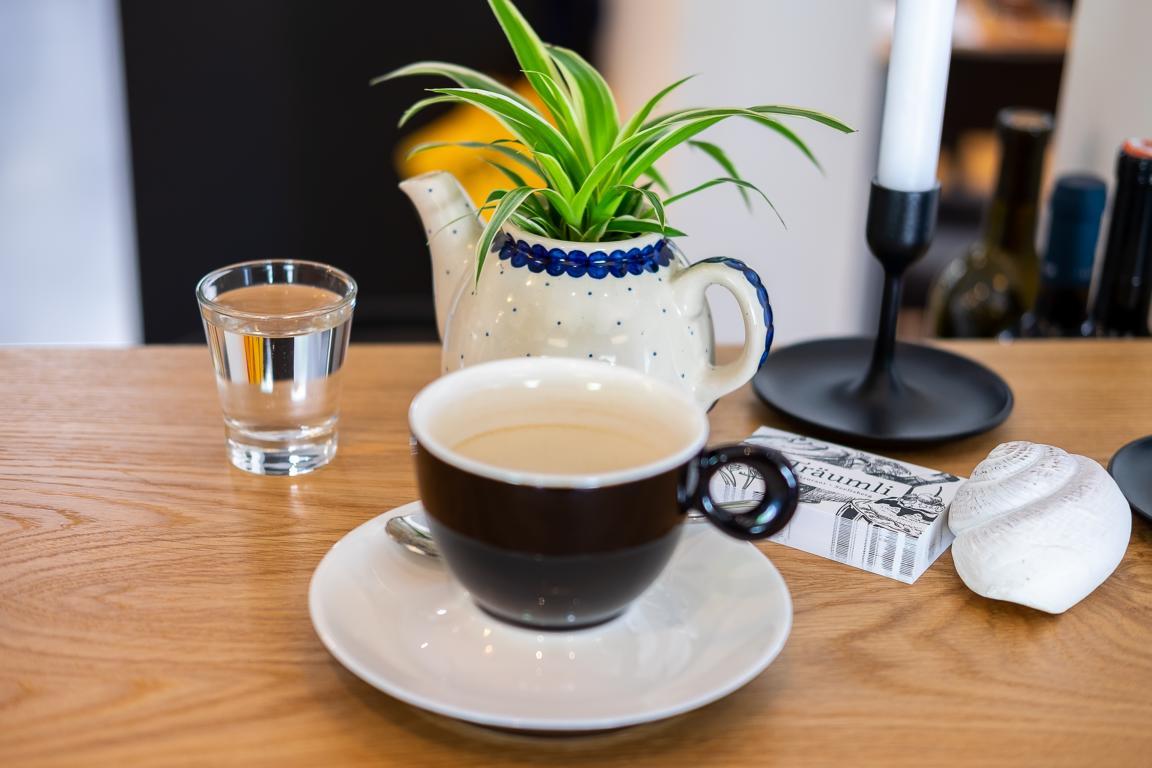 Kaffee im Restaurant Träumli in Seelisberg