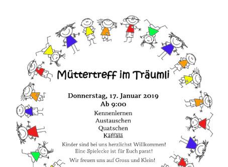 17. Januar 2019: Müttertreff in Seelisberg