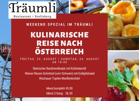 Kulinarisches Österreich im Träumli