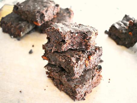 Vegan Gluten Free Superfood Brownies (V + GF)