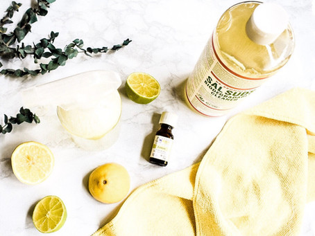 Non Toxic DIY All Purpose Cleaner