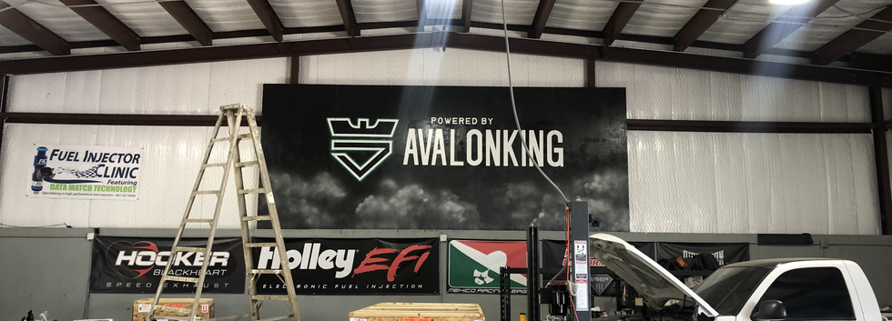 Avalon King large indoor mural