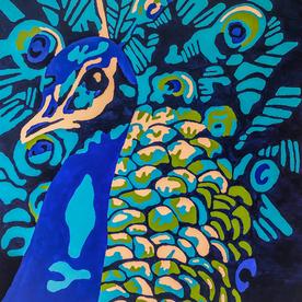 Feminine Peacock