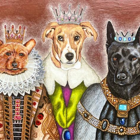 Renaissance Pet Trio