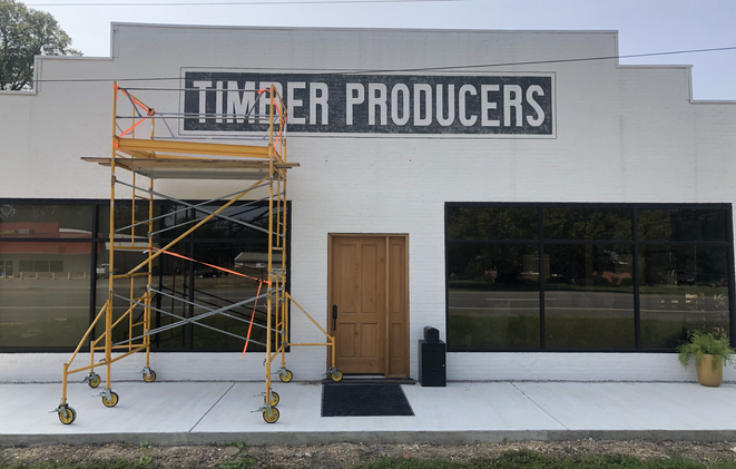Timber Producers Logo Design & Outdoor Painting