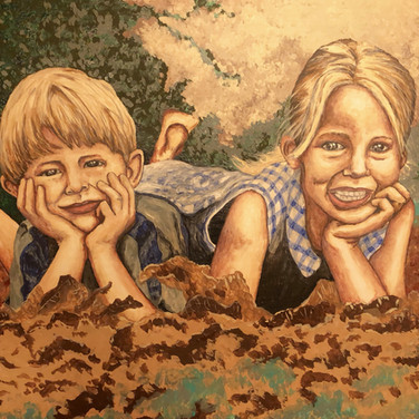 Portrait for Mom & Dad