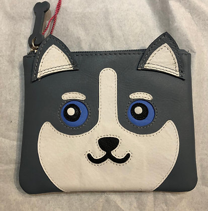 Leather Hugo Husky Purse