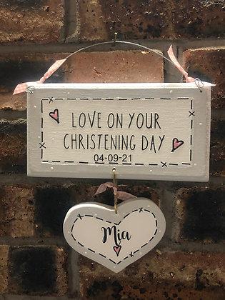 Christening Day Dangly