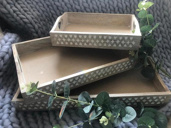 Trays set of 3