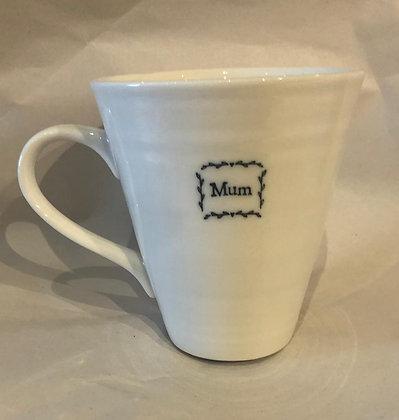 Porcelain Mum Mug