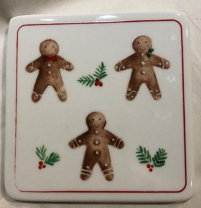 Gingerbread Coaster