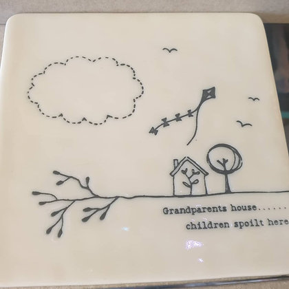 Grandchildren coaster