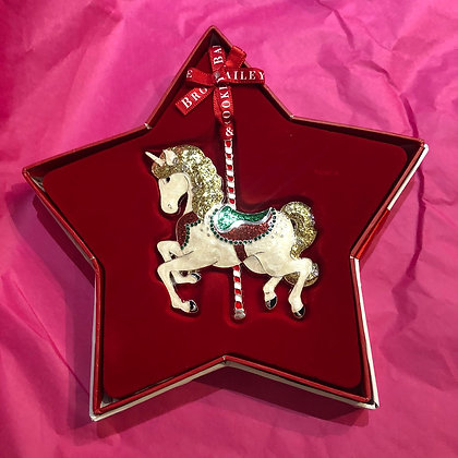 Carousel Horse Tree Decoration