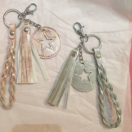 Star Dangly Keyrings