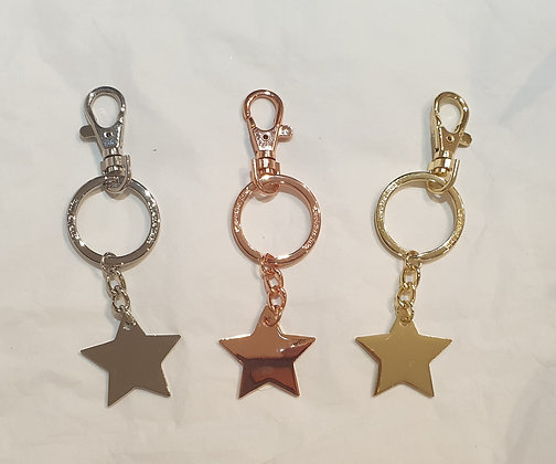 Star Keyrings