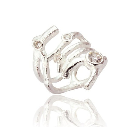 Bubble Statement Ring