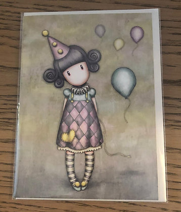 Pierrot Doll Card