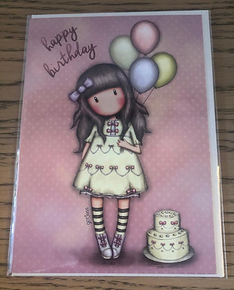 Happy Birthday Gorjuss Card